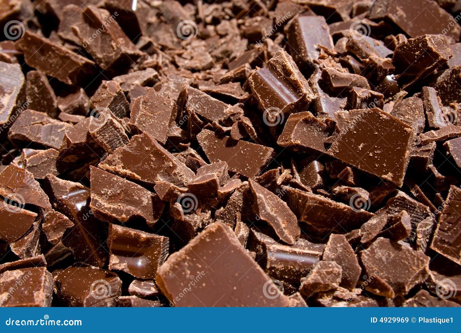 Pedaços do chocolate (1)