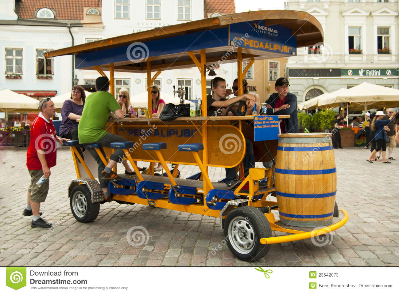 I Want to Operate a Party Bike, But Where Do I Begin