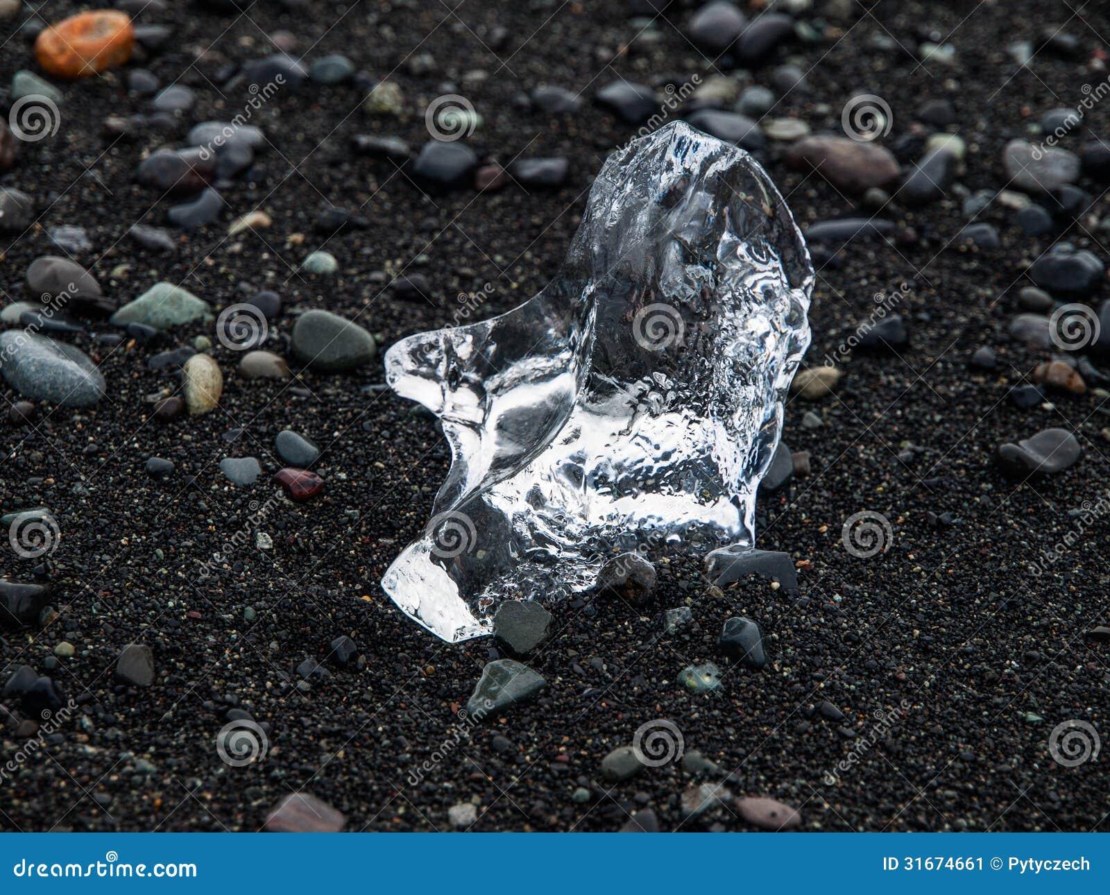 Pedazo de hielo