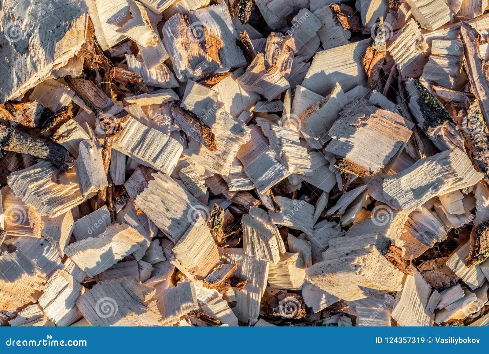 Pedazo de madera Madera reciclada Proceso respetuoso del medio ambiente