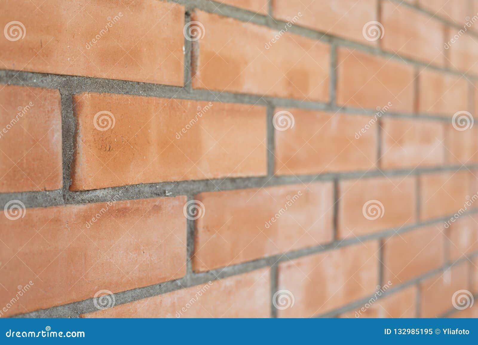 Pedazo de una pared de ladrillo