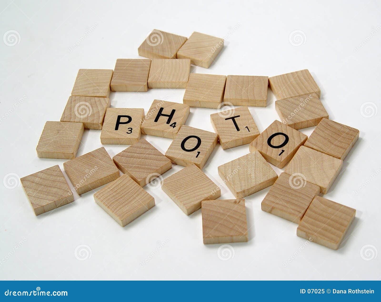 Pedazos 2 del Scrabble