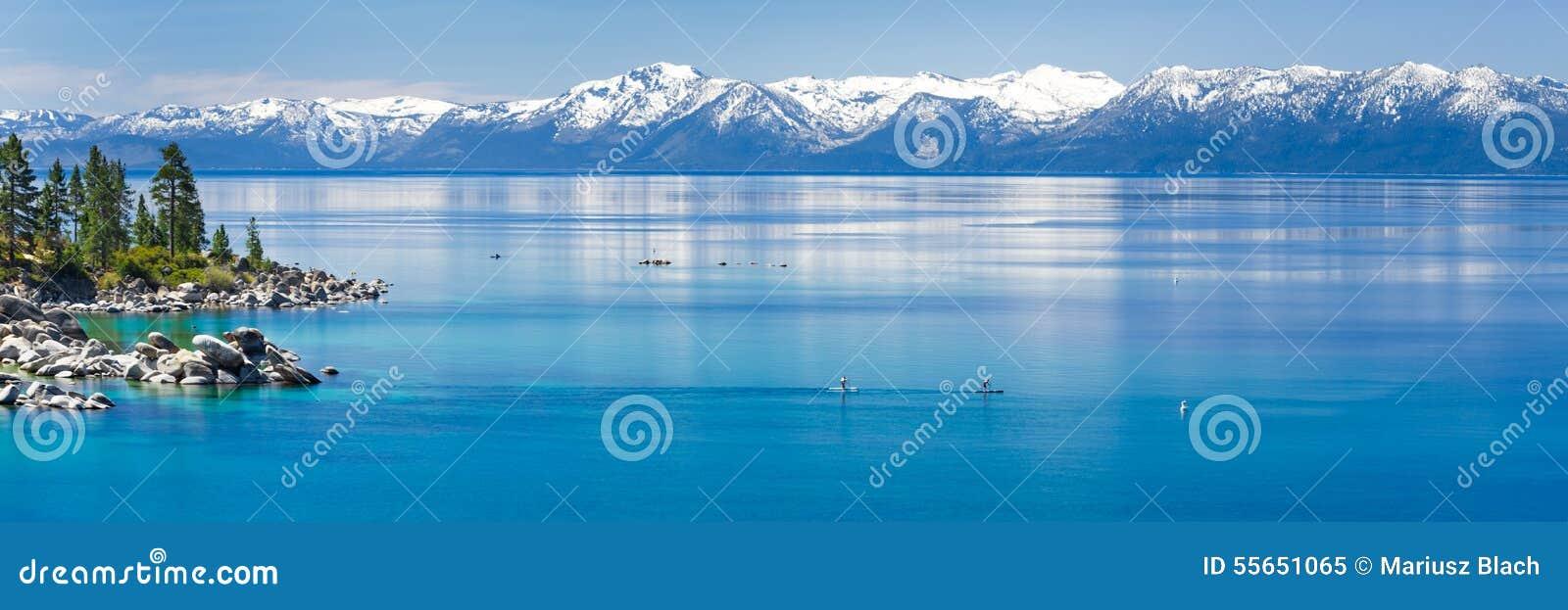Peddel het inschepen Meer Tahoe
