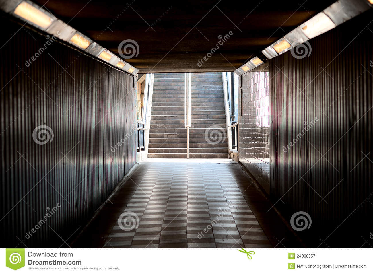 Pedestrian Subway Underpass Stock Image Image Of