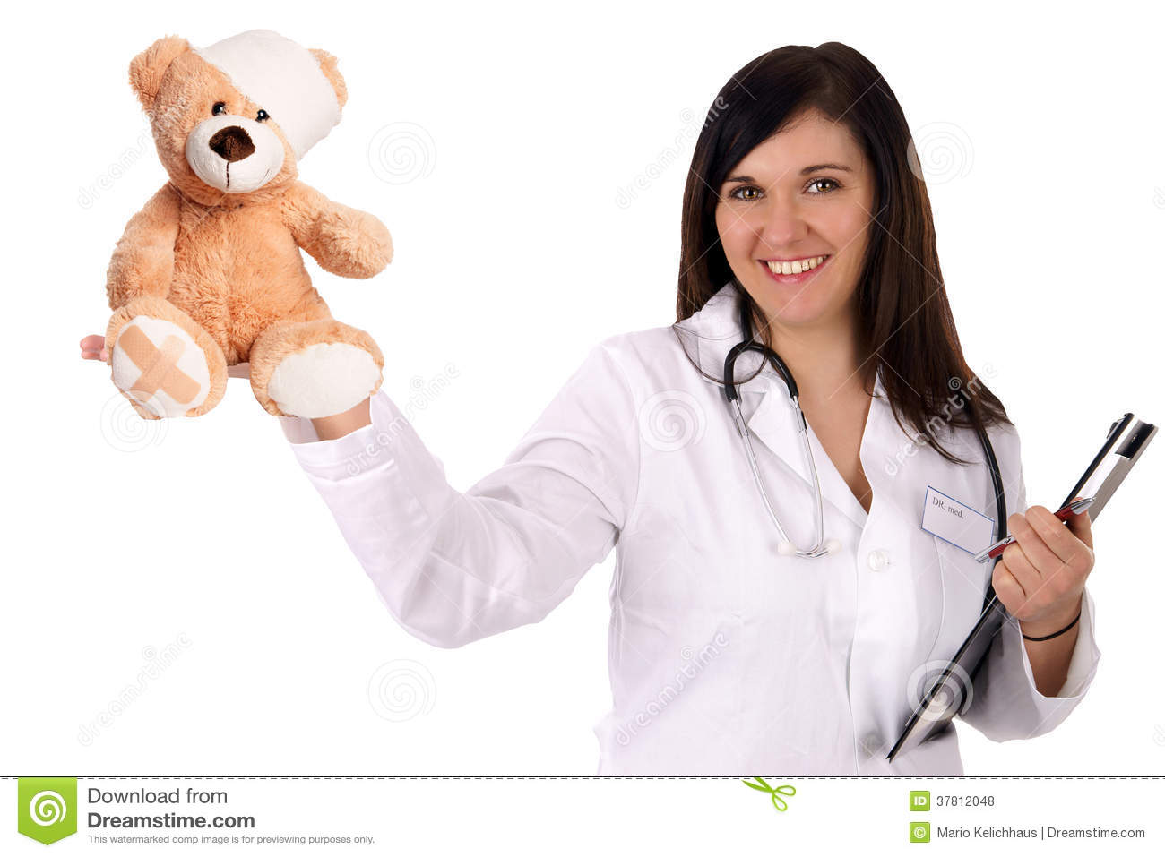 pediatrician royalty free stock photos image 37812048
