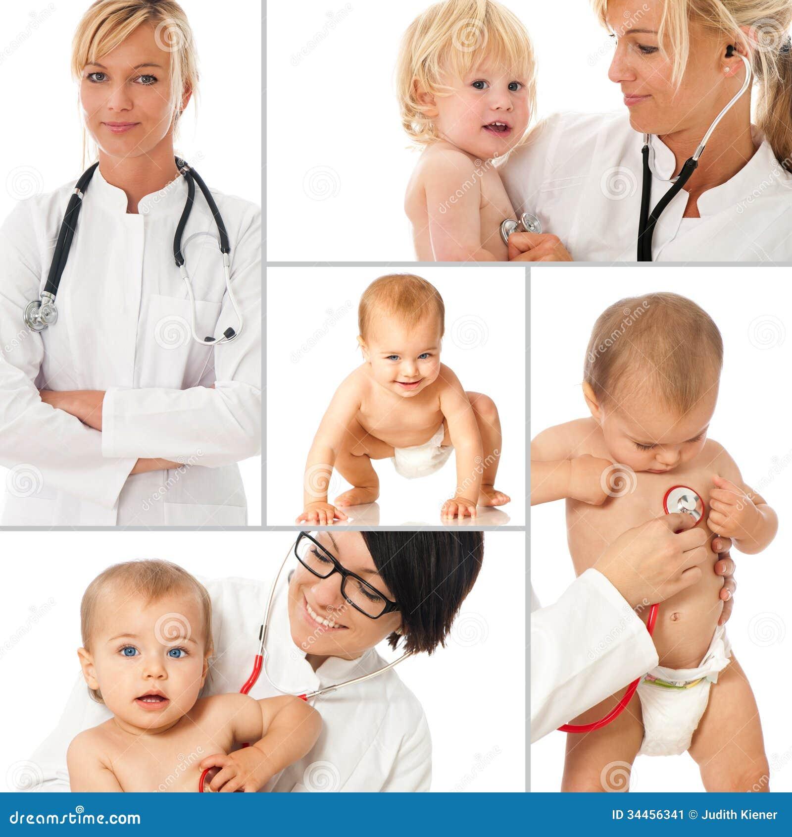 Pediatriskt - collage