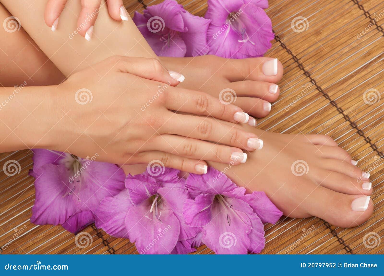 Pedicure和修指甲温泉