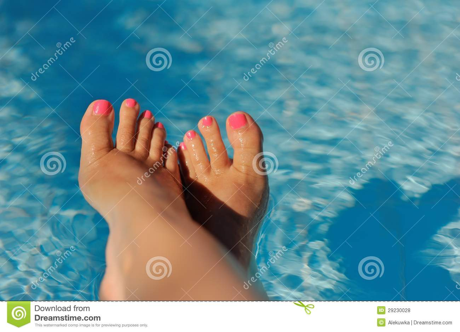 Download Pedicure bonito foto de stock. Imagem de relaxe, laca - 29230028