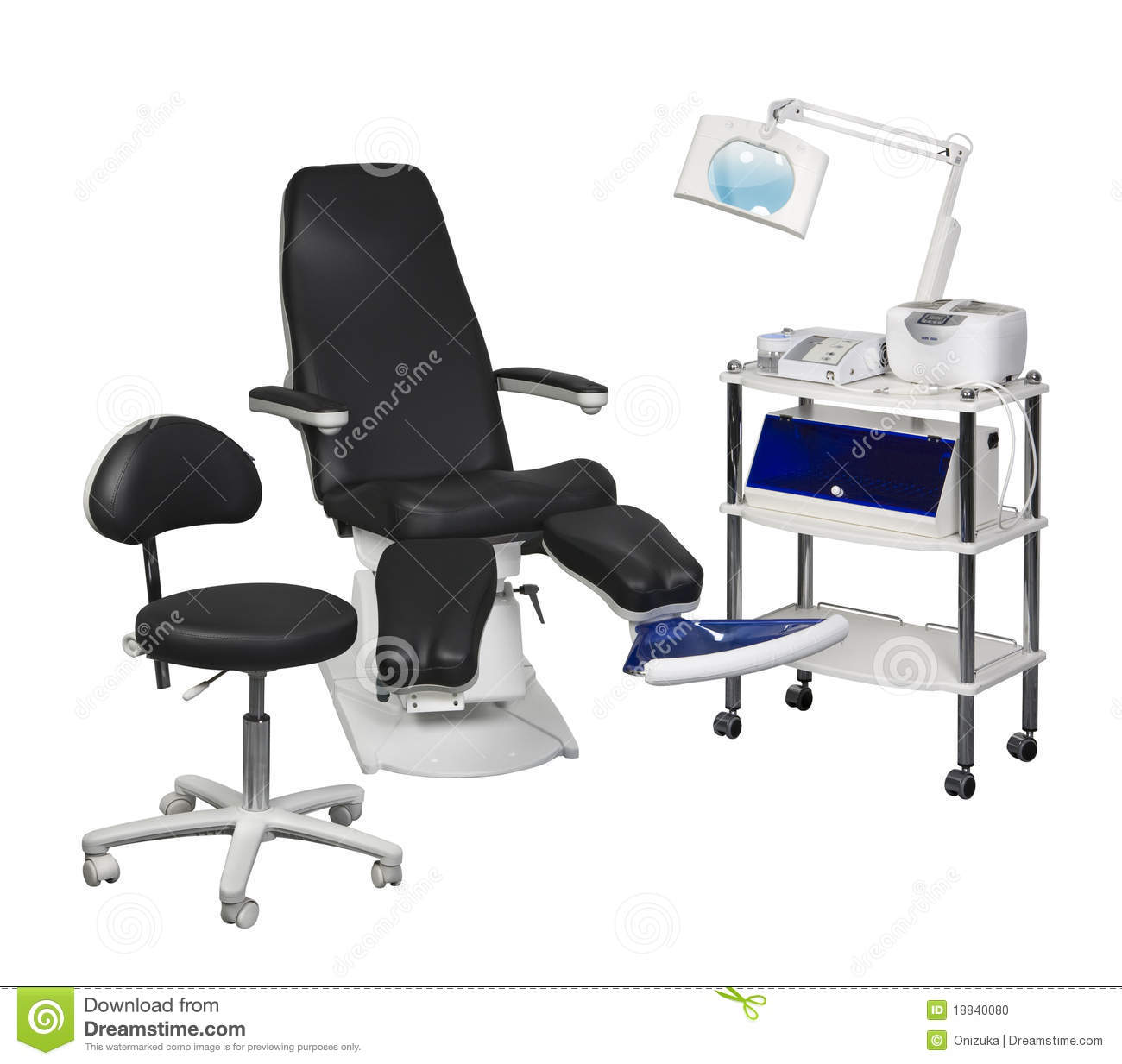 Pedicure Equipment Stock Photo - Image: 18840080