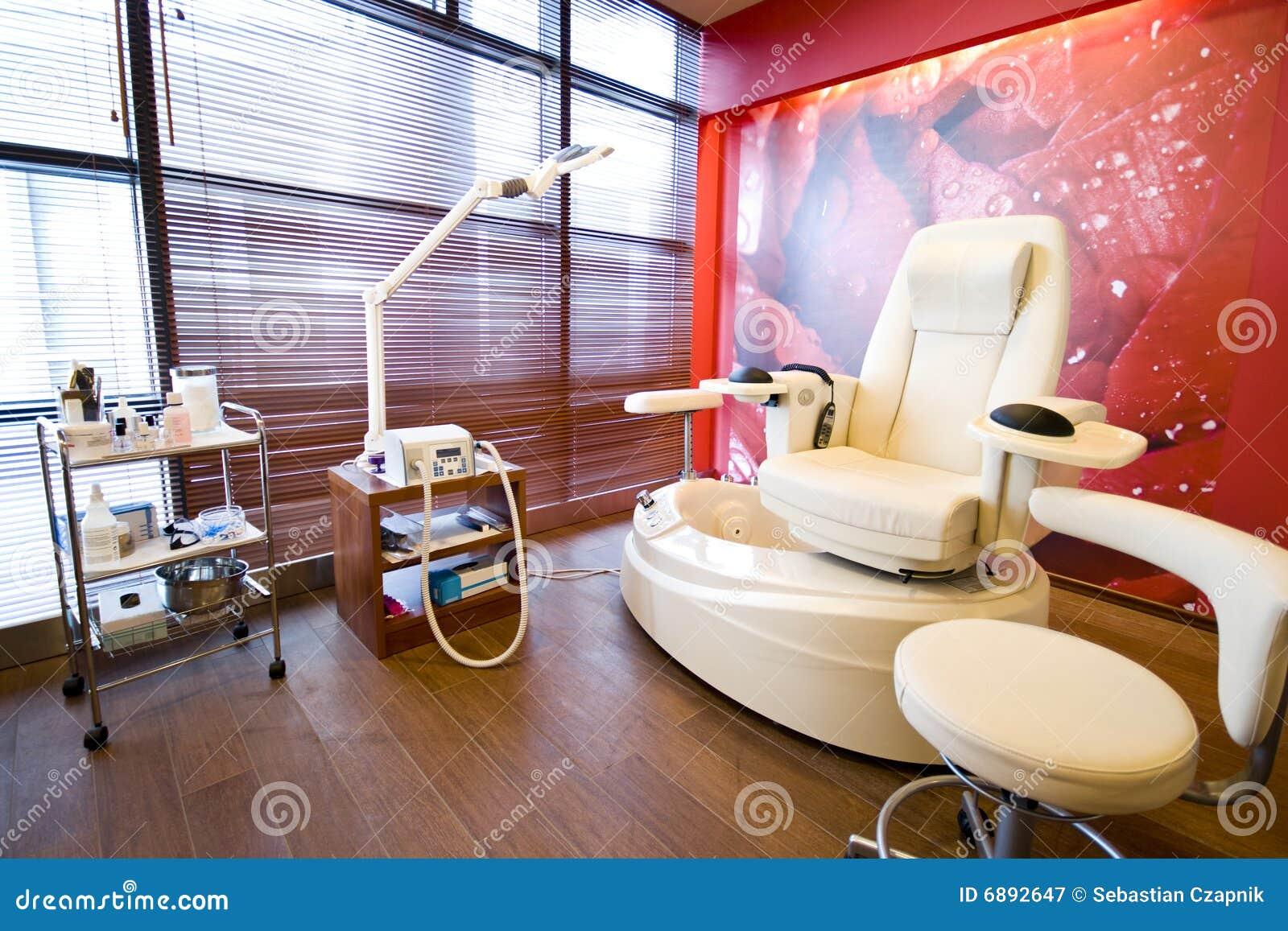 Pedicure Raum