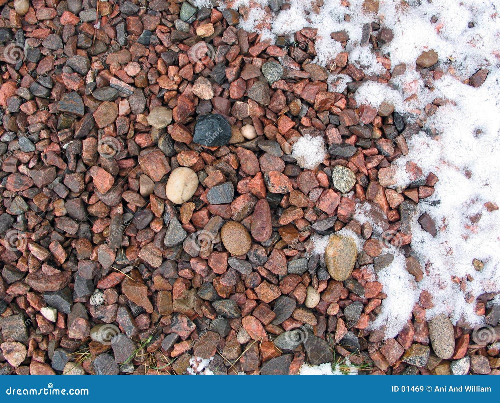 Pedra e neve