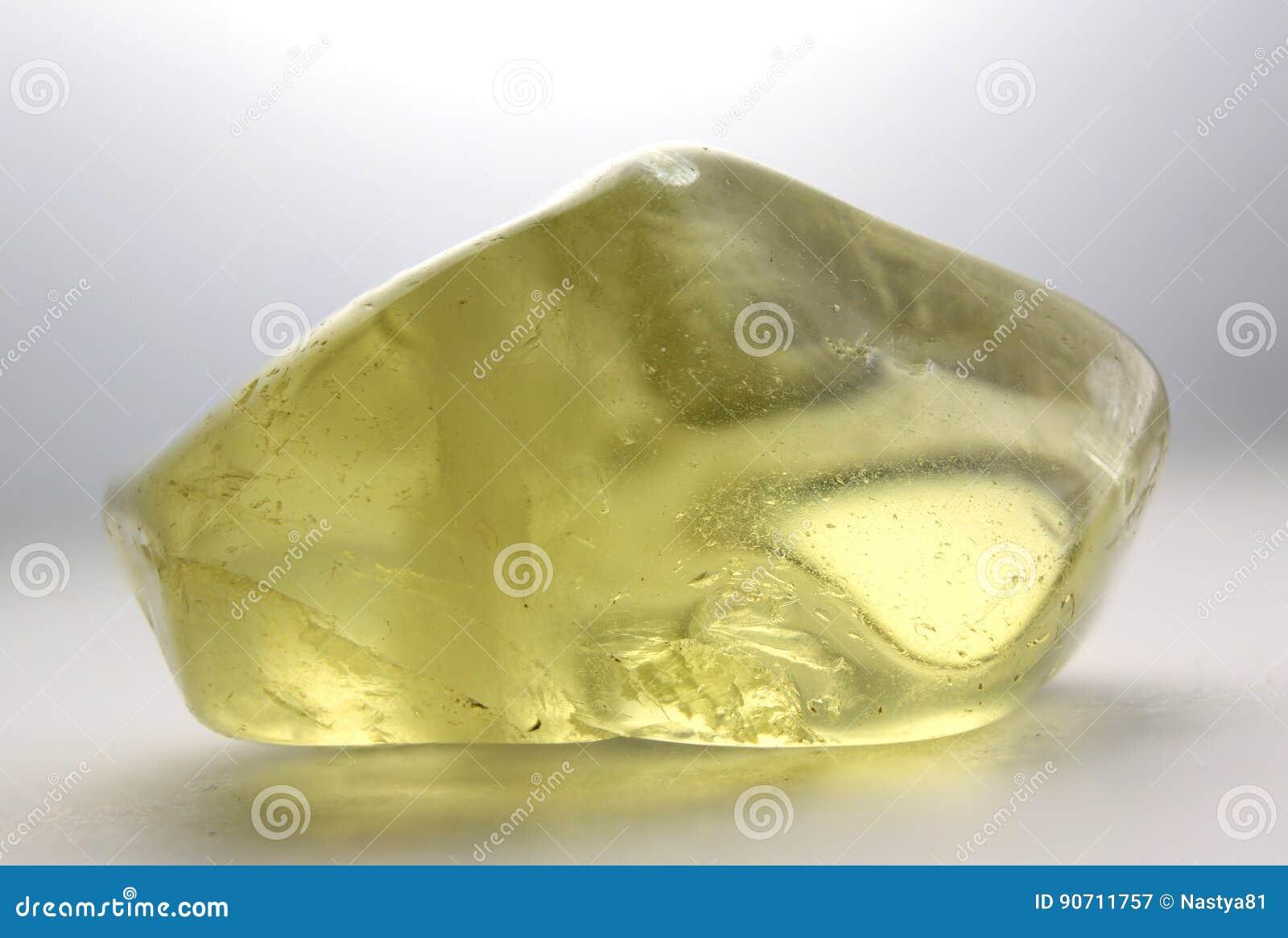 Pedra preciosa citrina