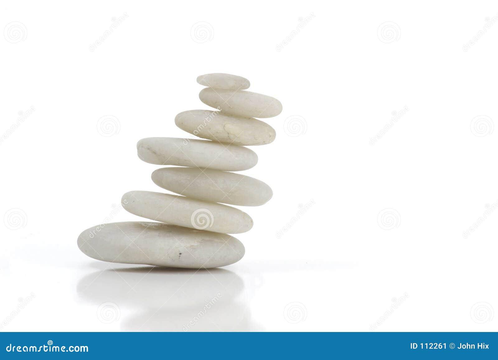 Pedras brancas