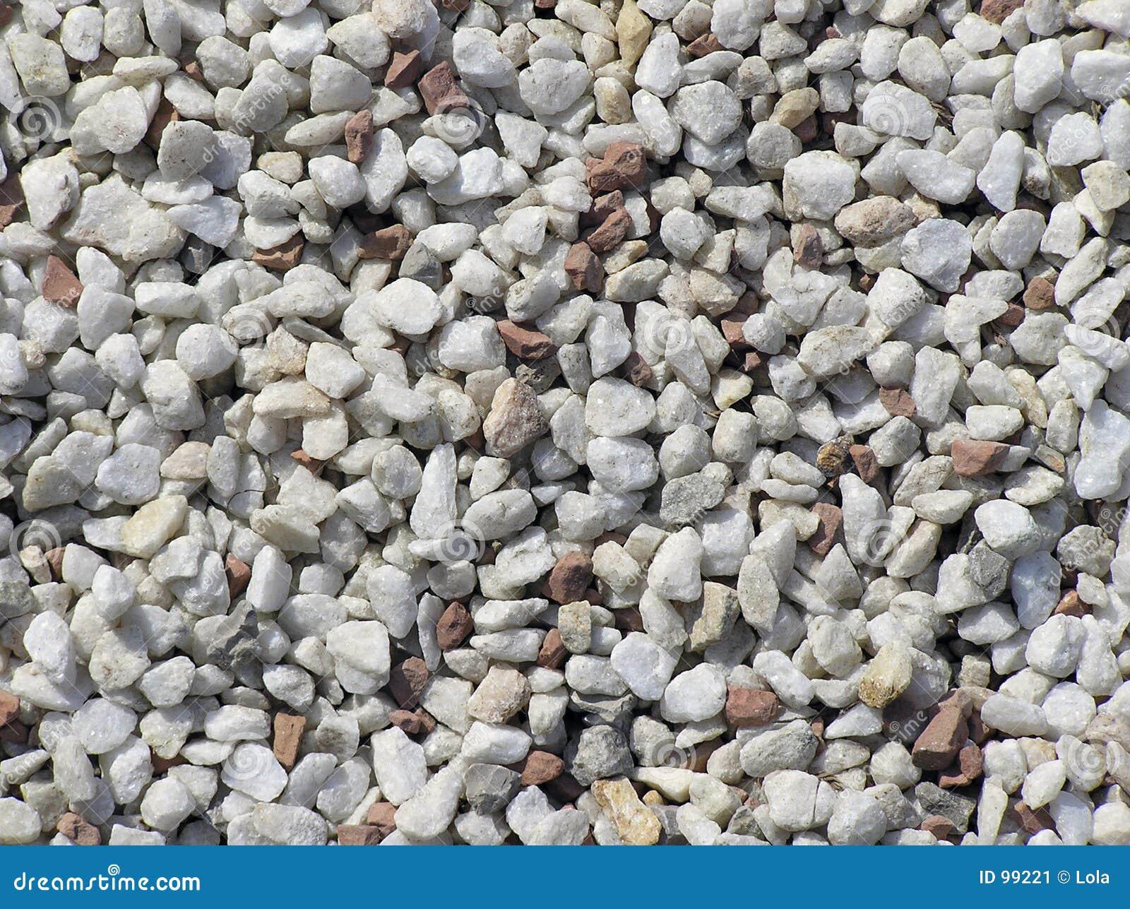 pedras de jardim branca:Pedras brancas e vermelhas