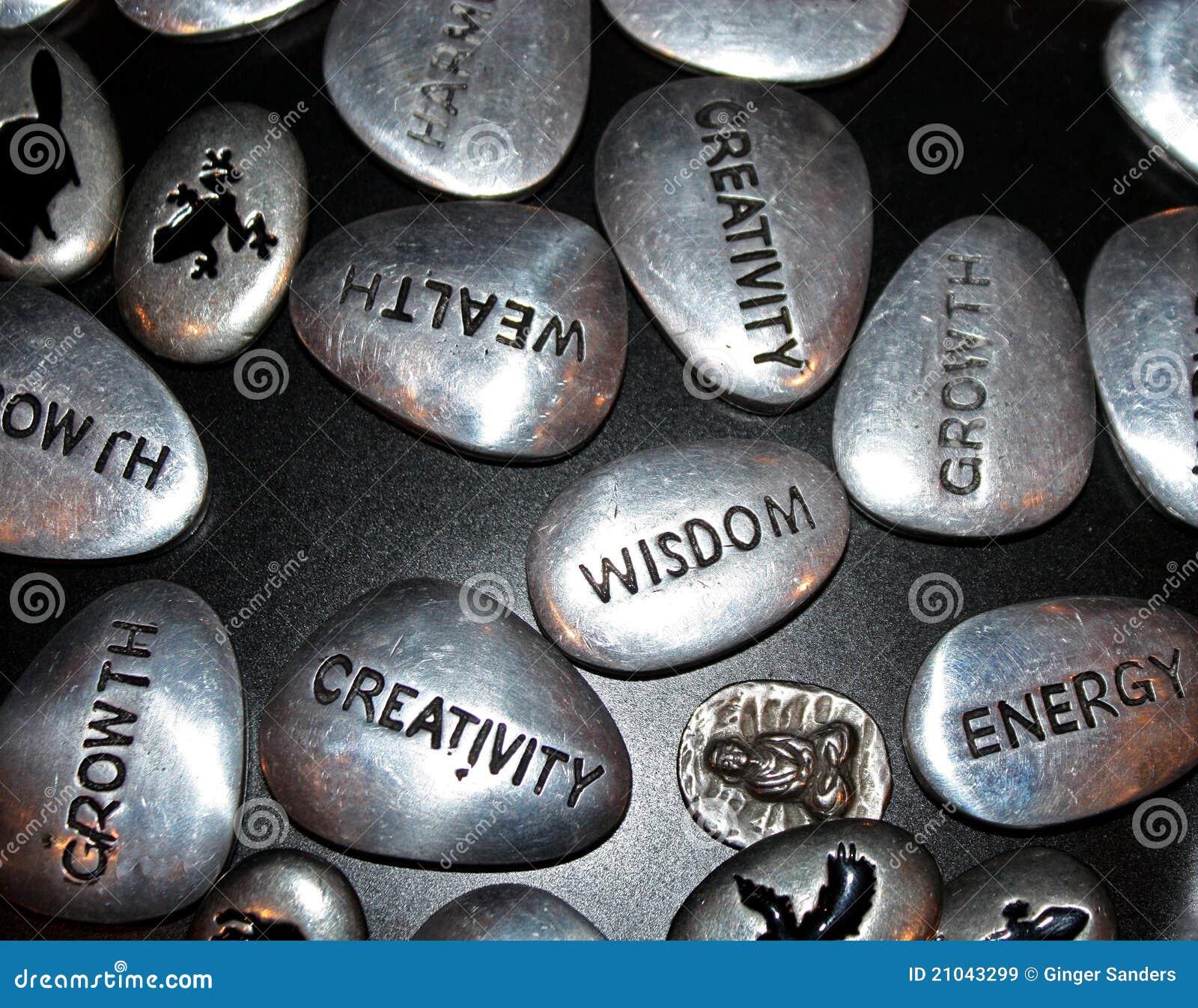 Pedras da inspiração