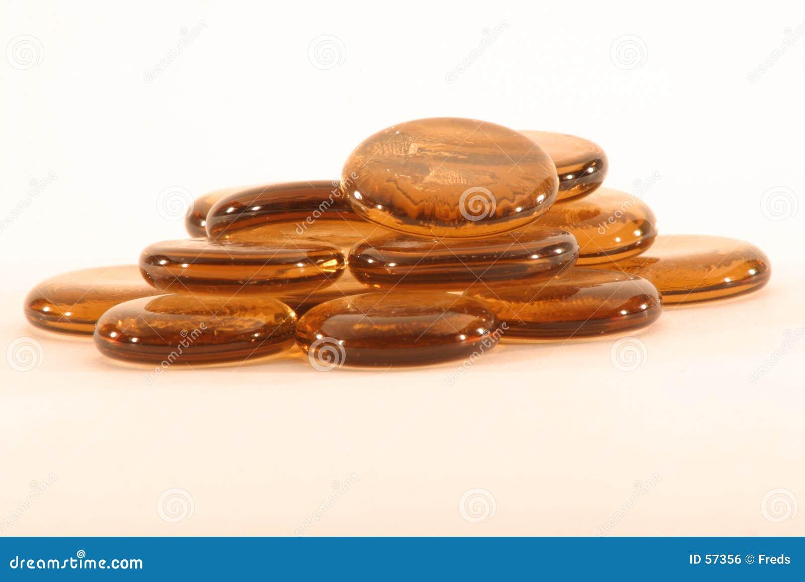 Pedras de cobre