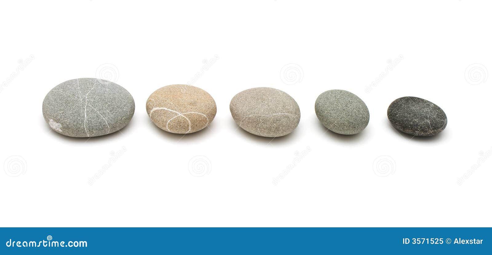 Pedras na linha