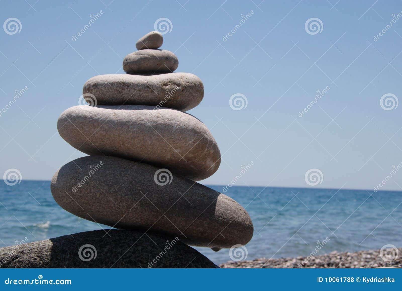 Pedras no seashore