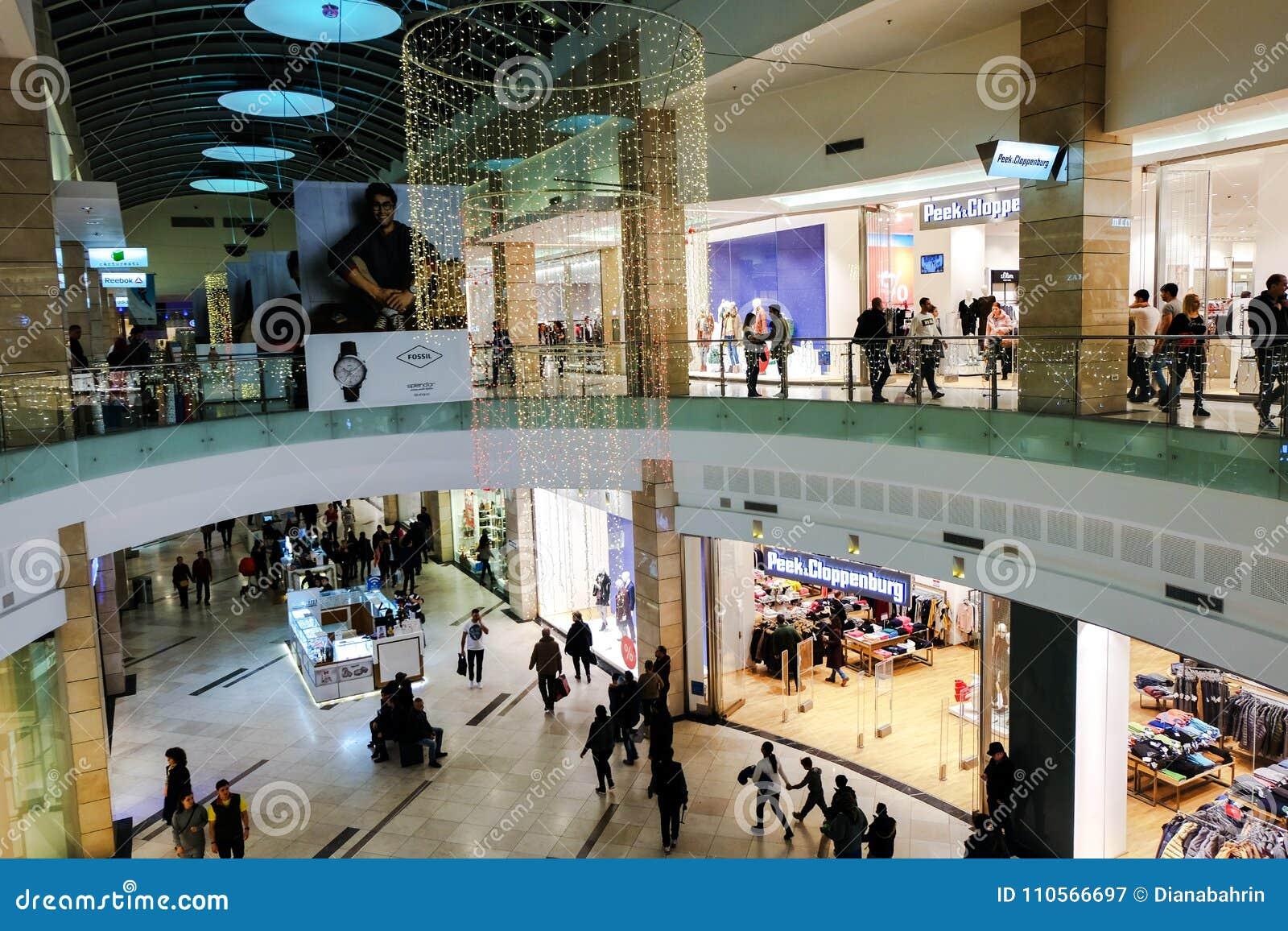 38cfbdca028a Peek Cloppenburg Store In AFI Cotroceni Shopping Mall, Bucharest ...