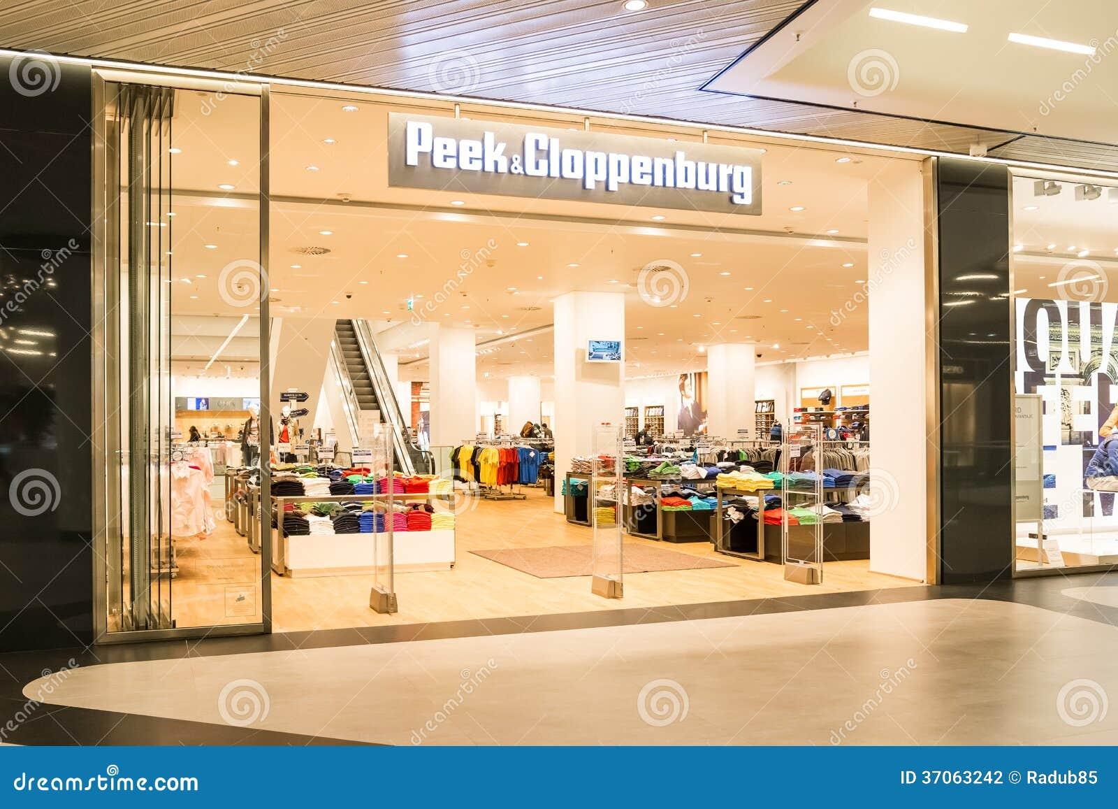 Peek and cloppenburg online shop