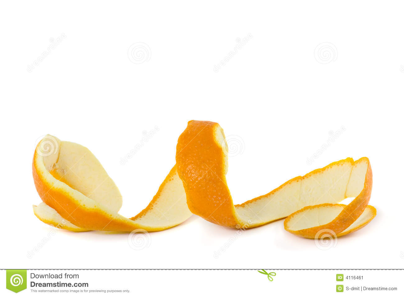 Peel of an orange