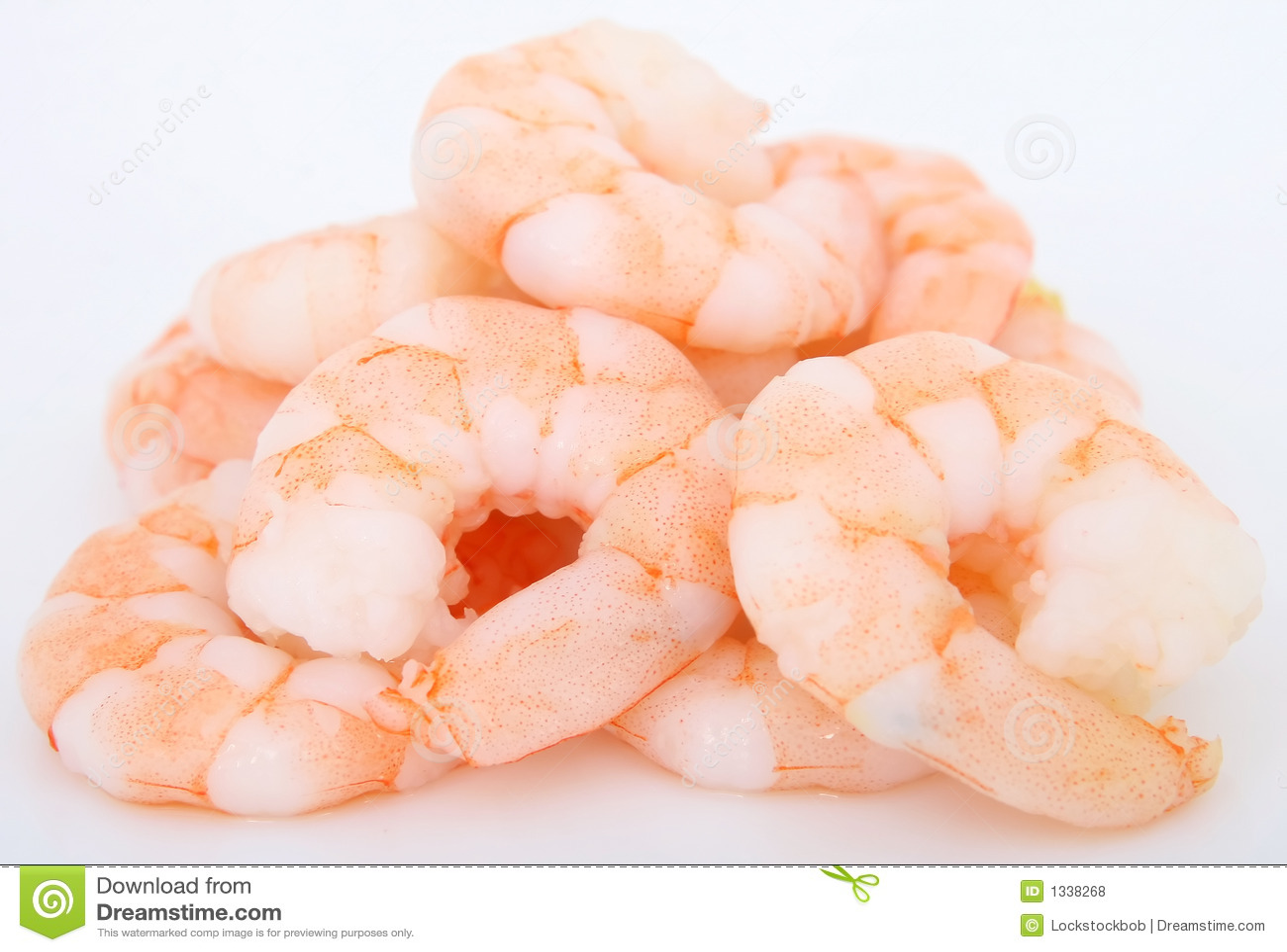 Peeled prawns