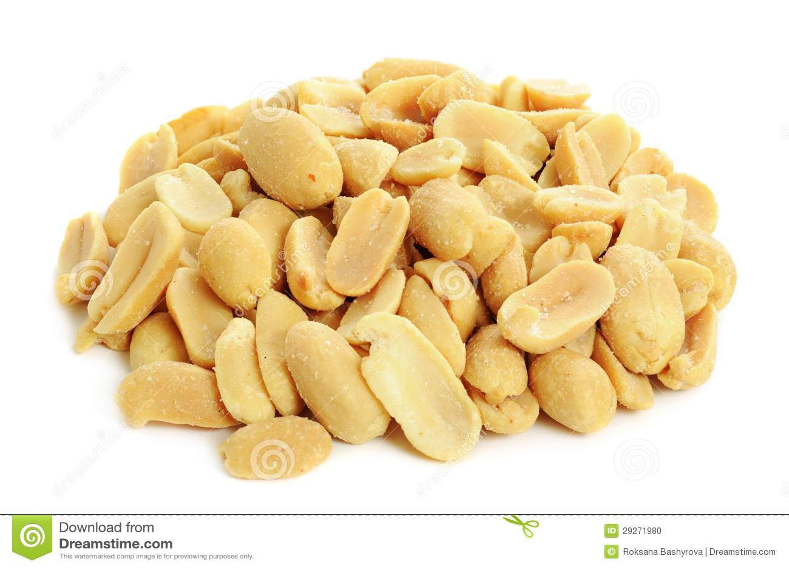 Peeled Salted Peanuts Stock Photo Image Of Close