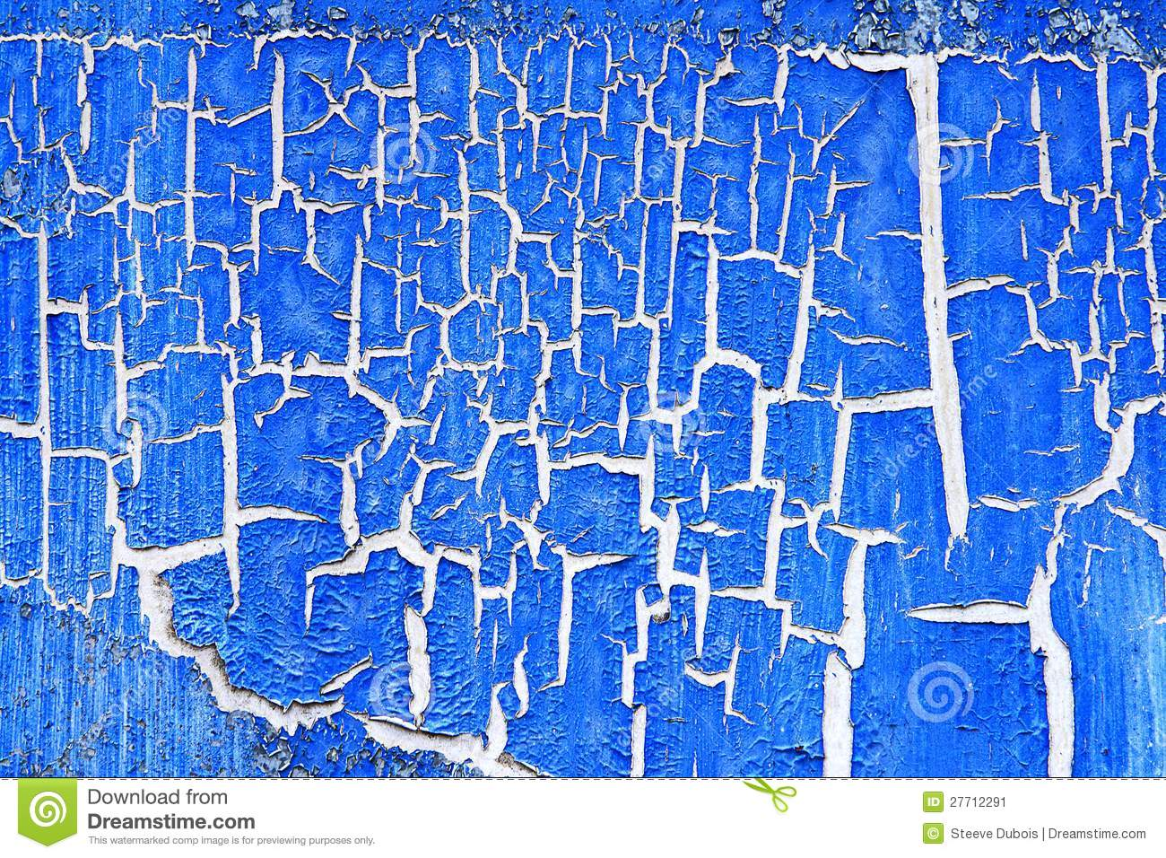 Blue Paint peeling blue paint stock image - image: 27712291