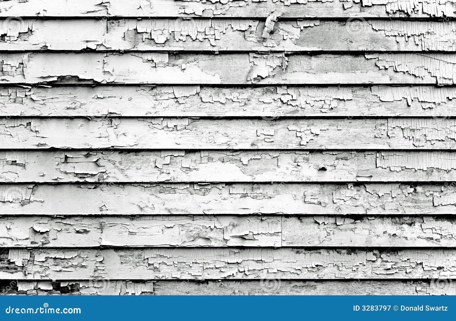 Peeling Paint Black Amp White Stock Image Image 3283797