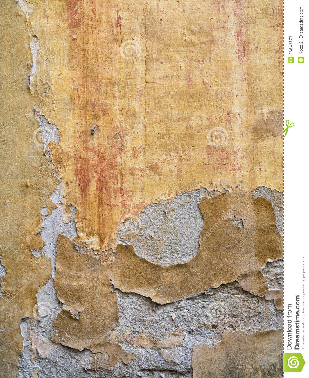 Remove Peeling Paint Bathroom Wall: Old Paint Peeling From Wall Texture Background Royalty