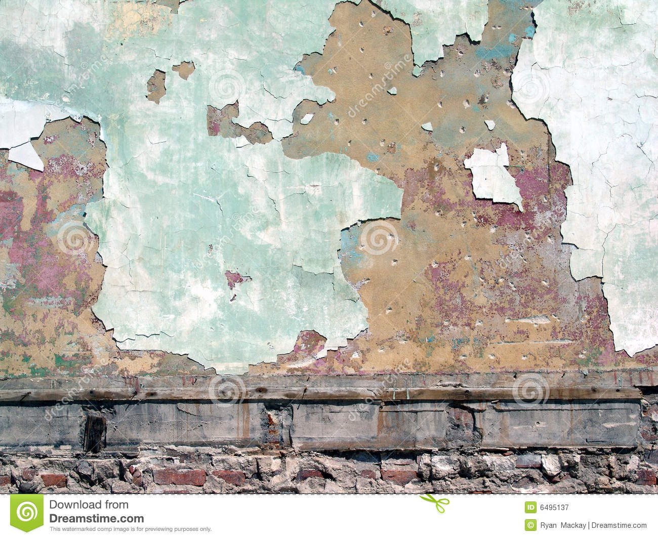 peeling paint on wall royalty free stock photography. Black Bedroom Furniture Sets. Home Design Ideas