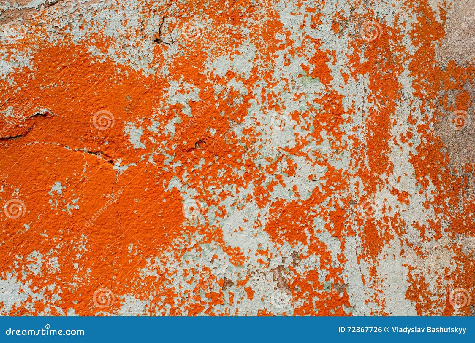 Rustic Orange Paint peeling paint wall seamless texture pattern rustic blue grunge