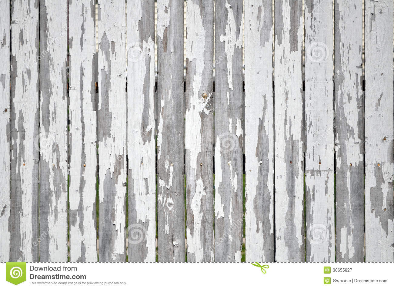 peeling paint on white picket fence stock image image