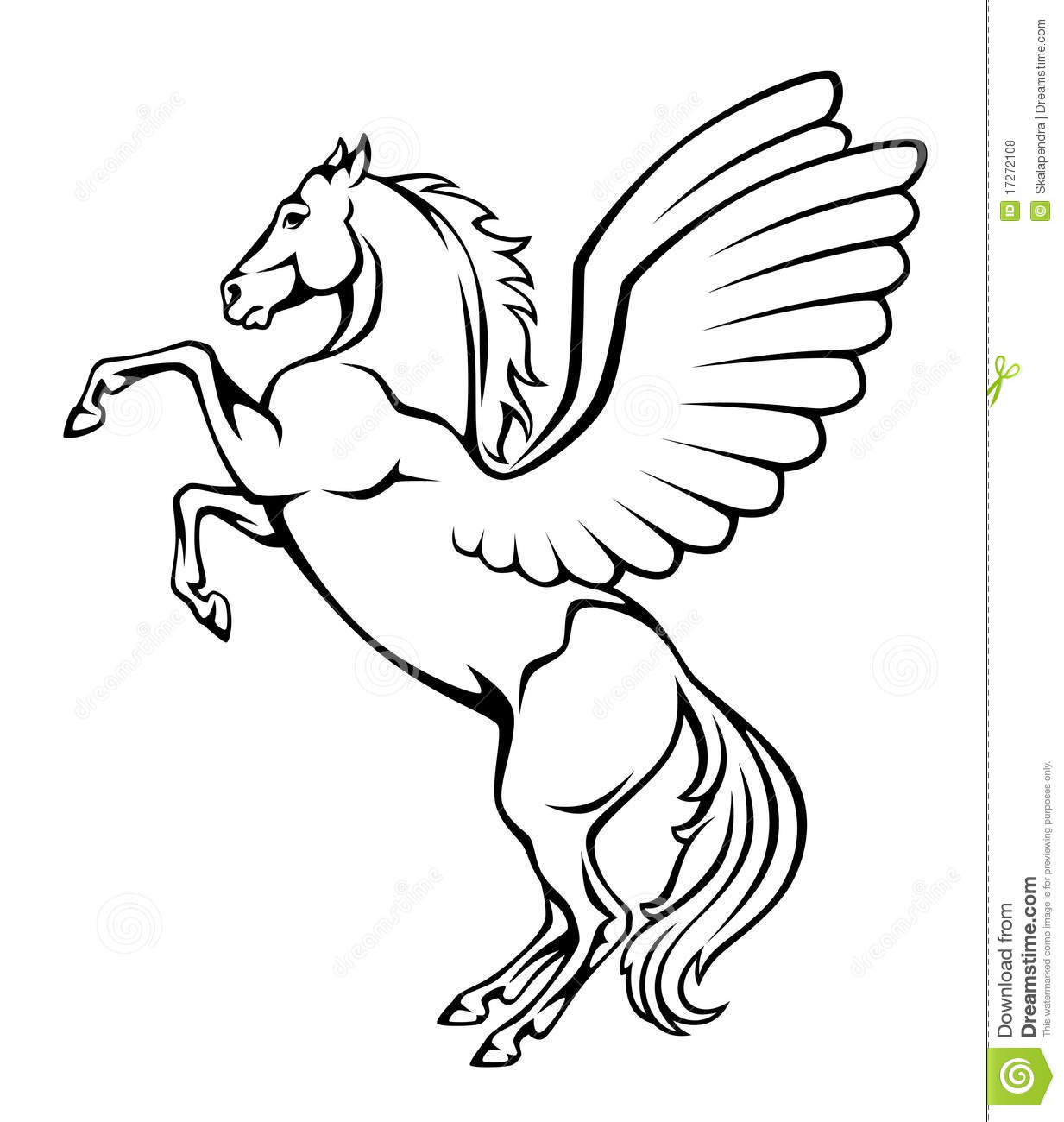Pegasus Royalty Free Stock Photos - Image: 17272108