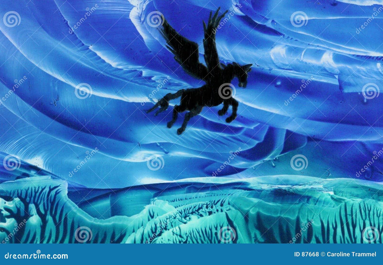 Pegasus en vol
