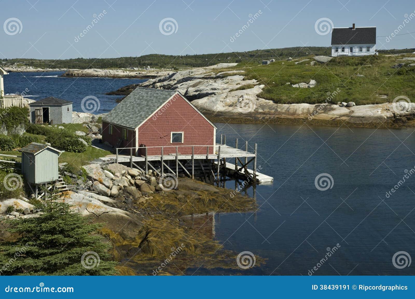Peggy's Cove, Nova Scotia stock image  Image of halifax
