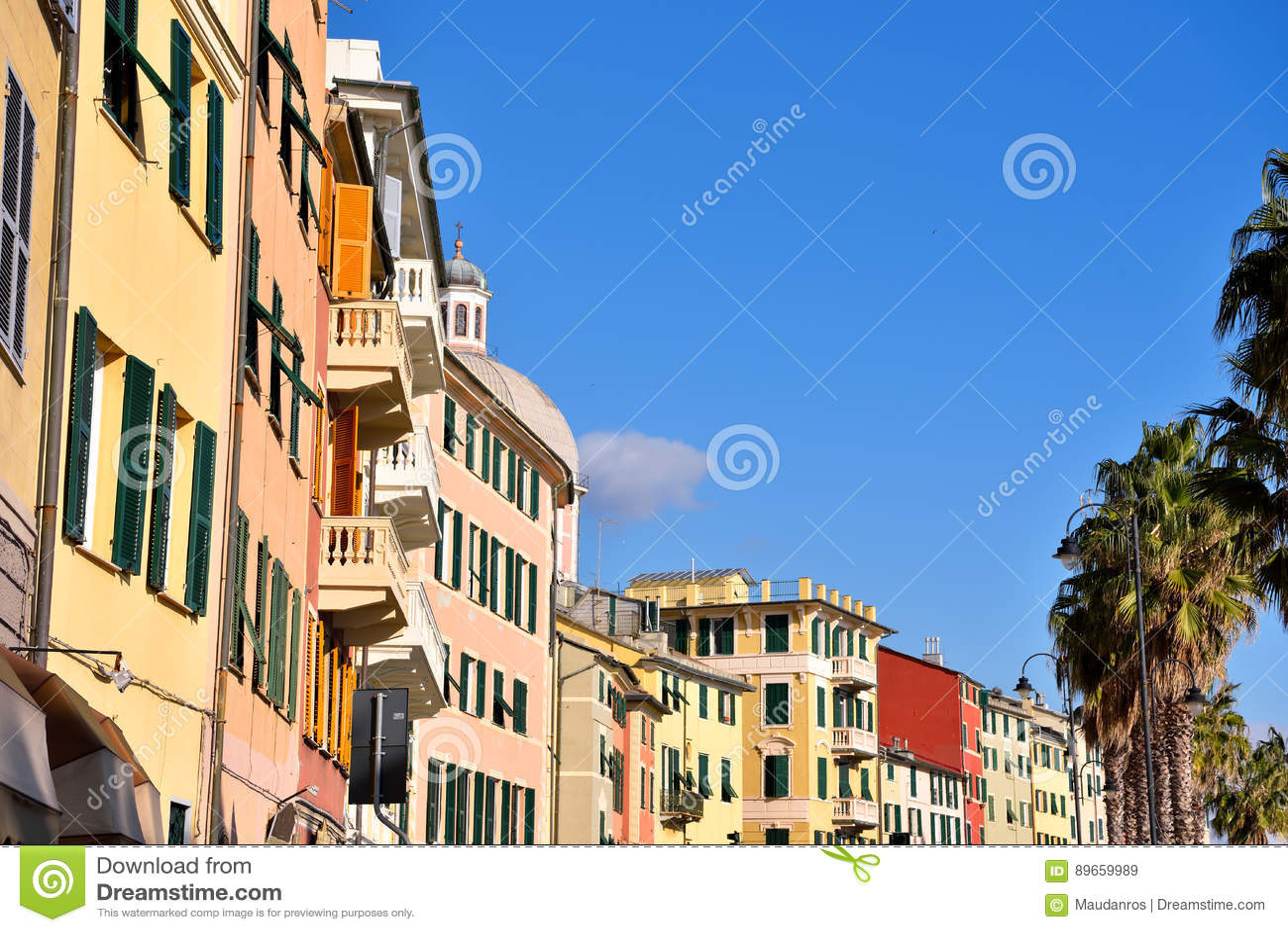 Pegli, Генуя, Италия