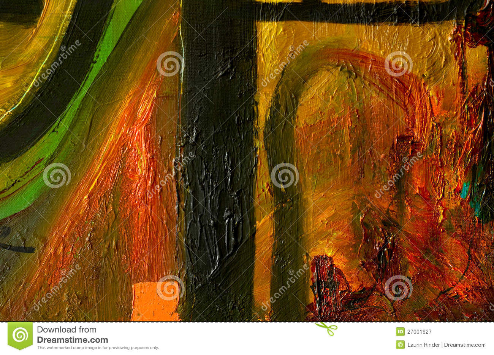 Peinture l huile abstraite - Peinture abstraite a l huile ...