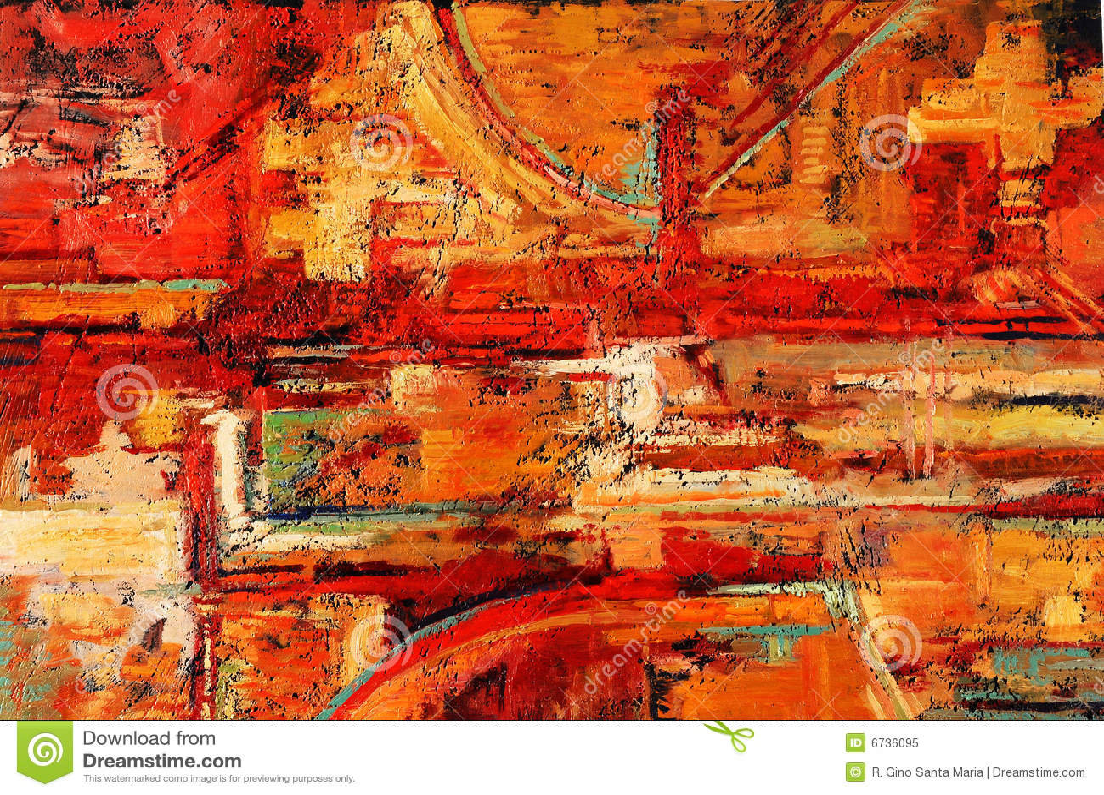 Peinture abstraite photo libre de droits image 6736095 - Peinture huile abstraite ...