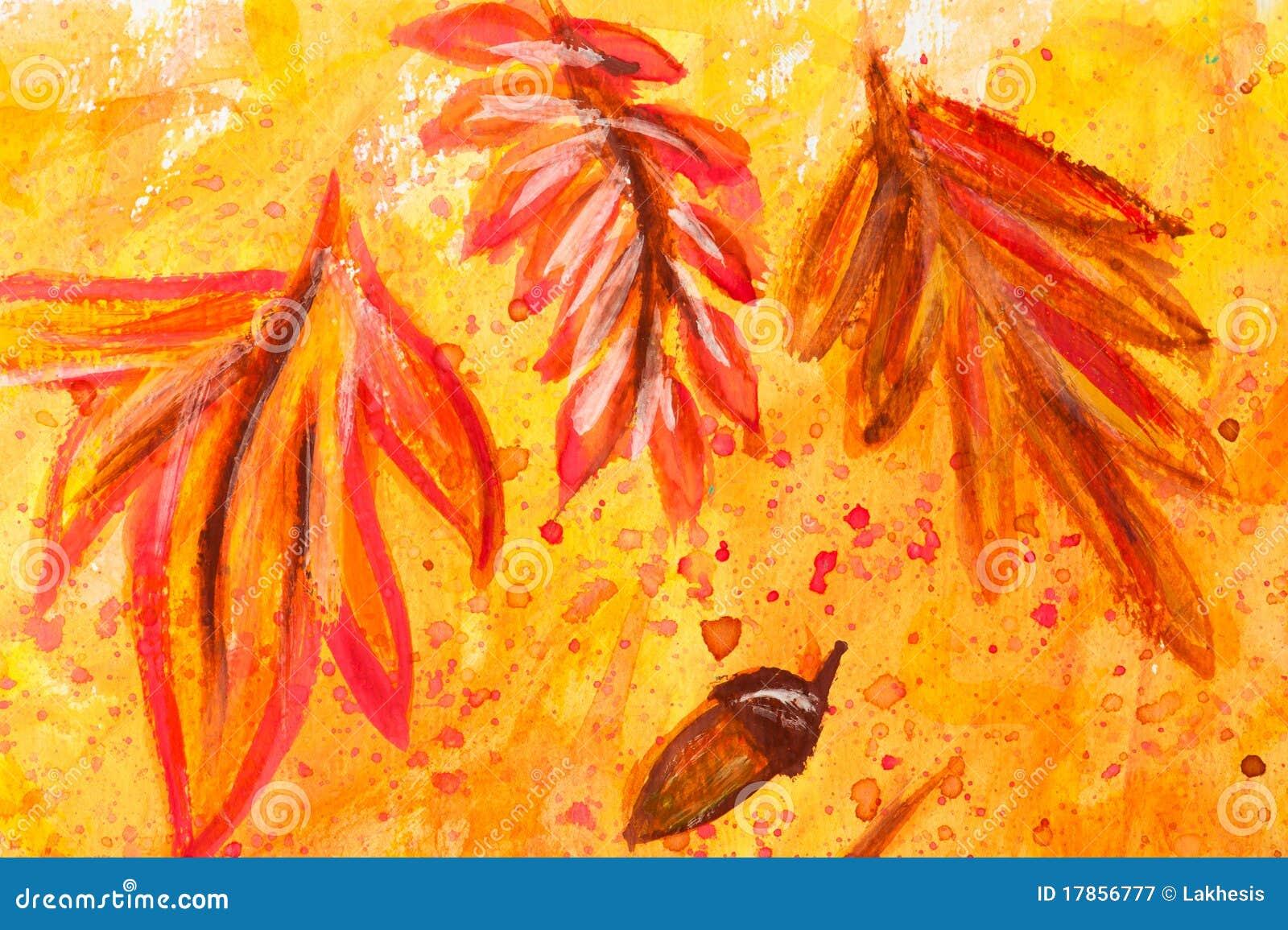 Peinture d aquarelle