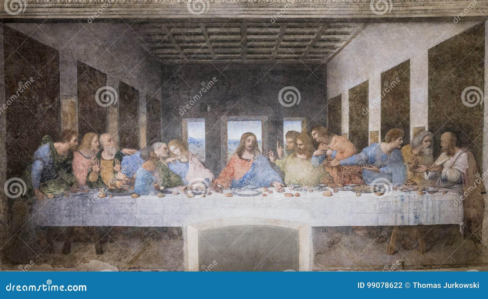 Peinture de dernier dîner