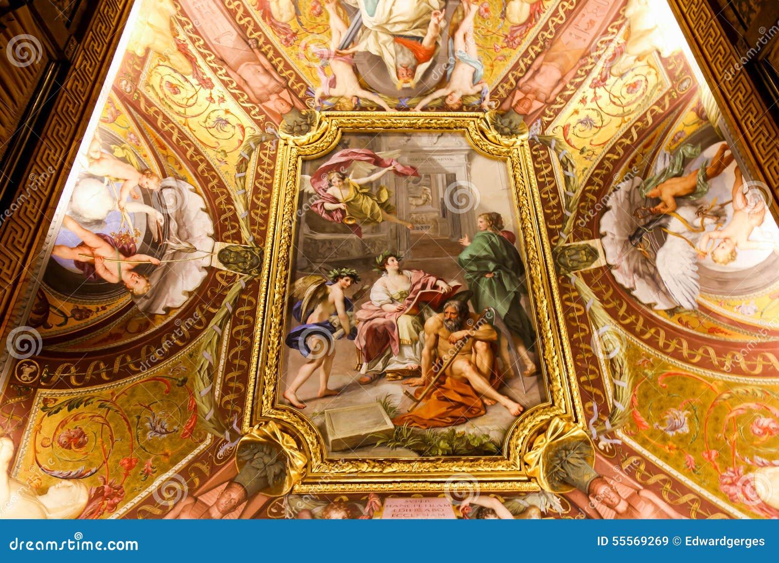 Peinture De La Renaissance Au Musée De Vatican Photo stock - Image: 55569269