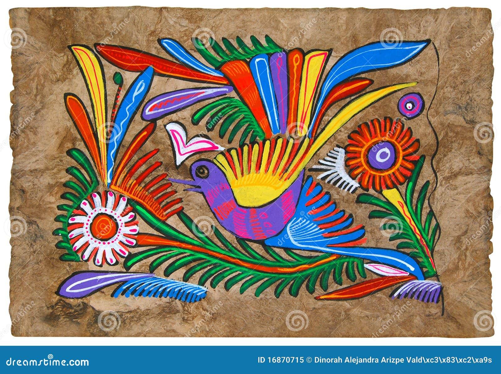 Peinture de papier d 39 amate photo libre de droits image 16870715 for Peinture sur papier