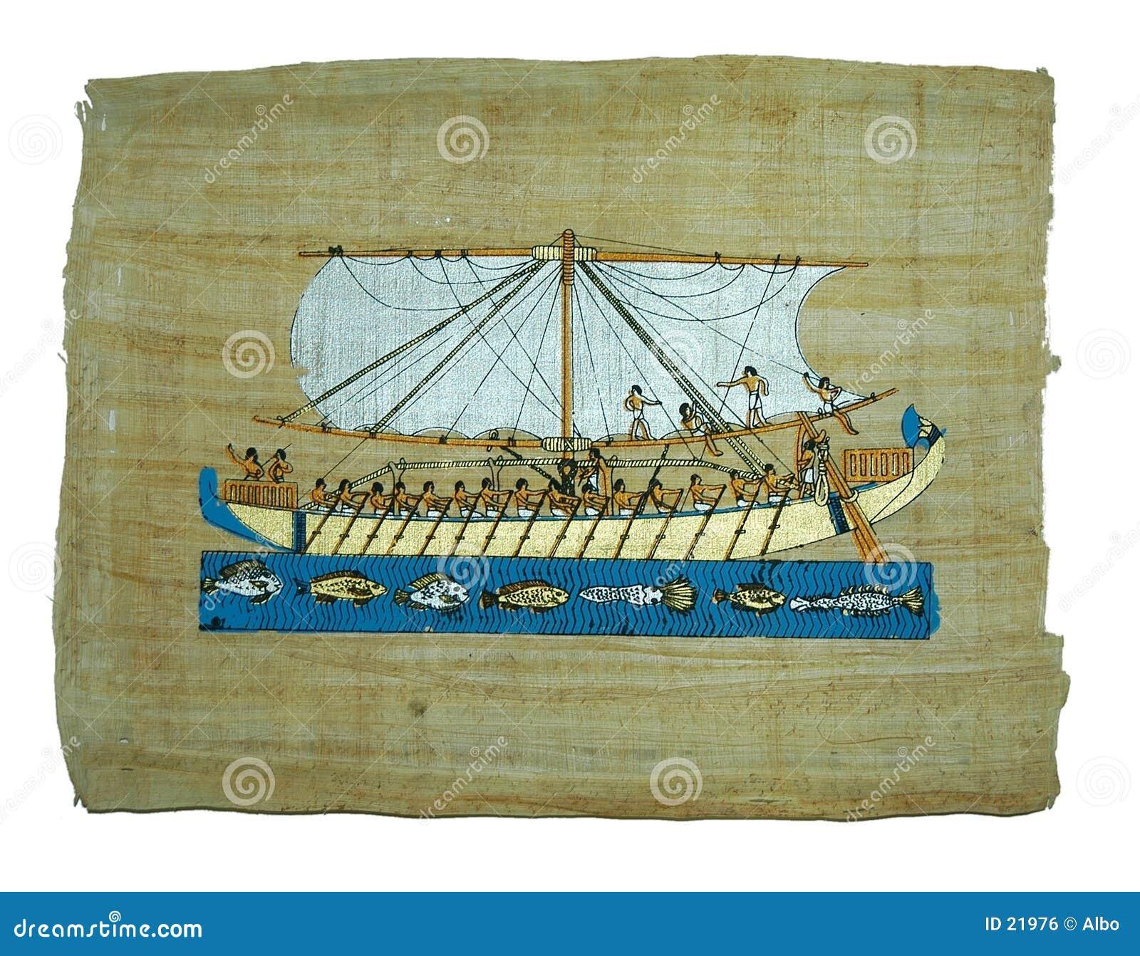 Peinture de papyrus