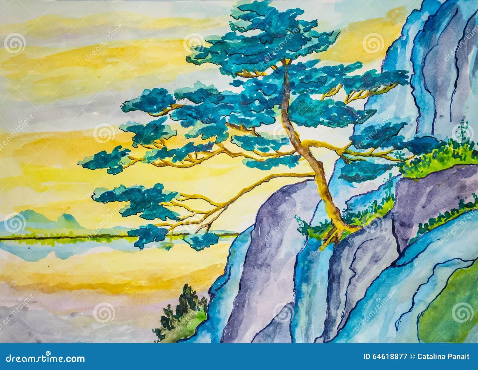 Horizontal Oil Painting