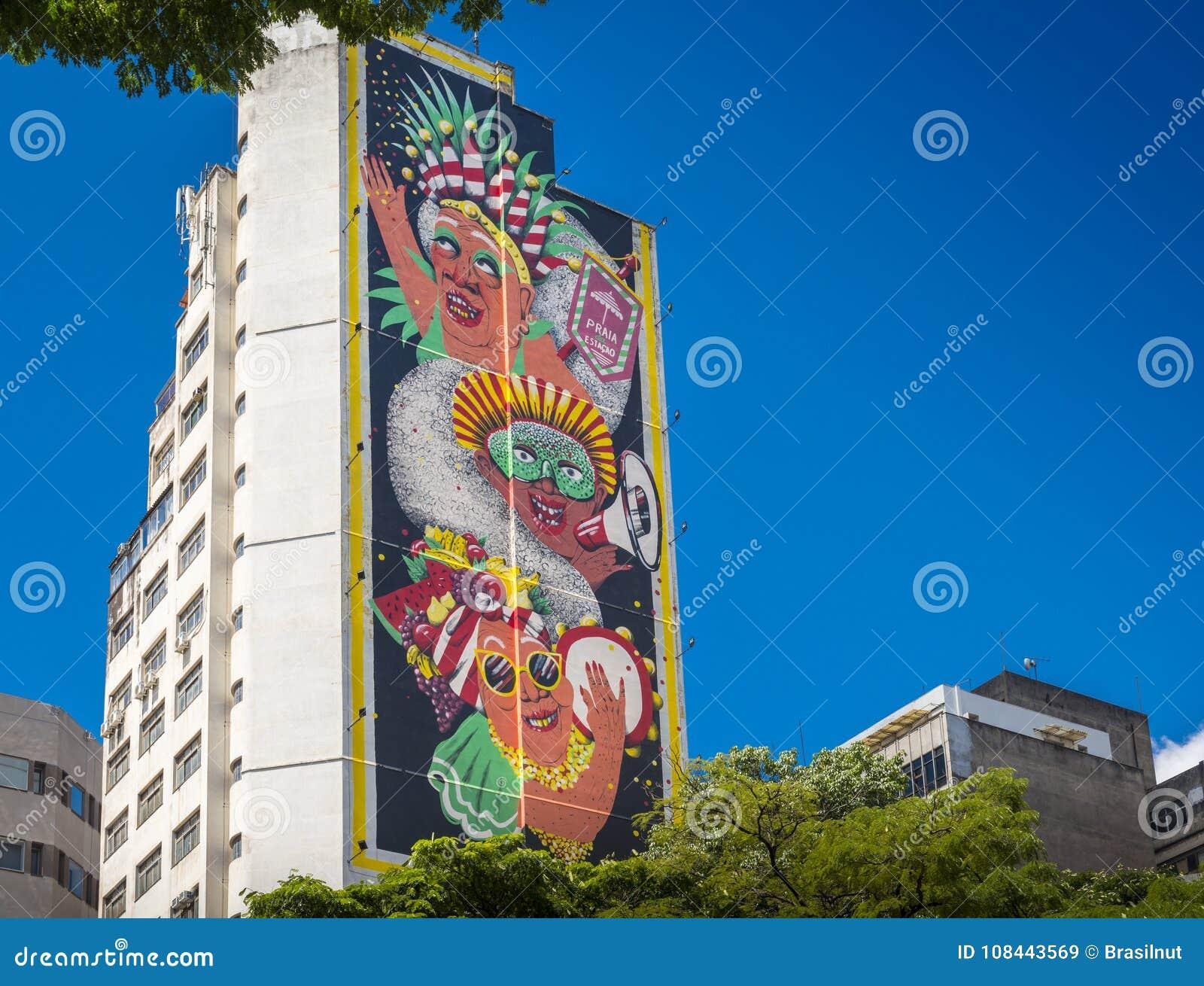 Peinture Murale Par L Artiste Espagnol Marina Capdevila En