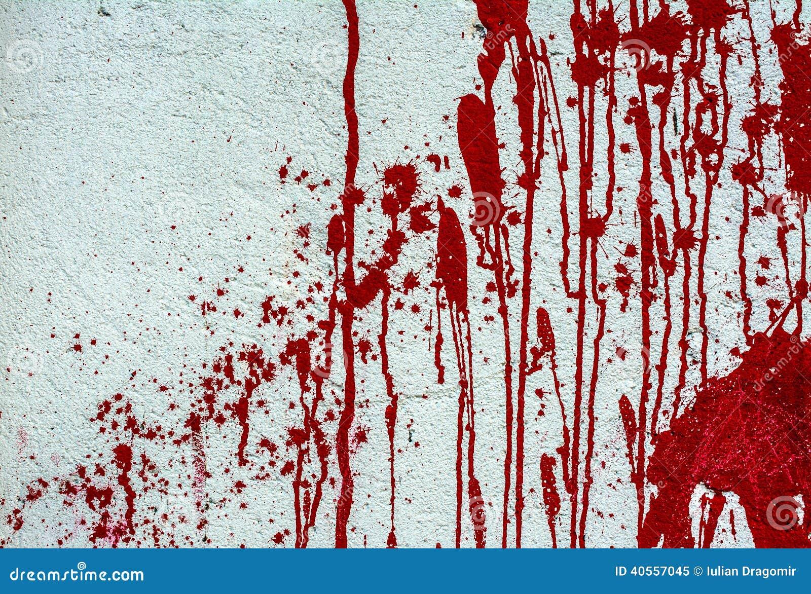 Plus d`images similaires à ` Peinture rouge sur le mur blanc `