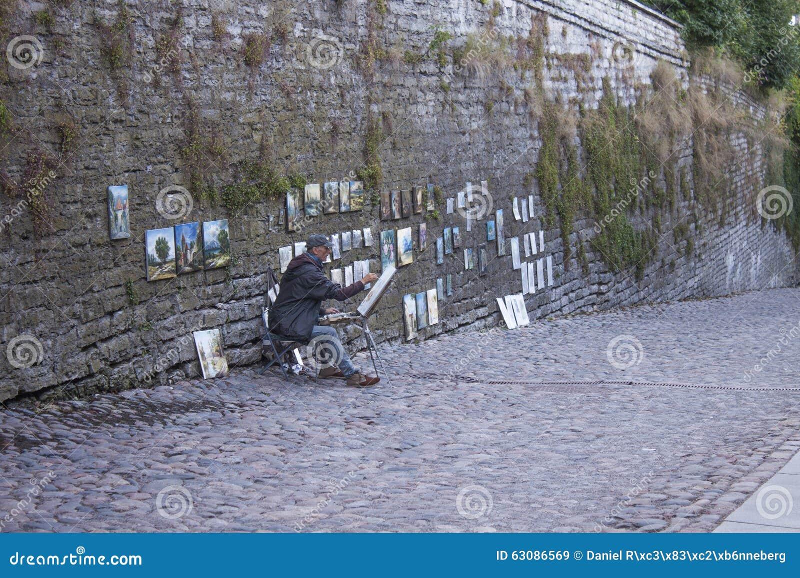 Download Peintures De Dessin D'artiste Image stock éditorial - Image du estonie, dessin: 63086569