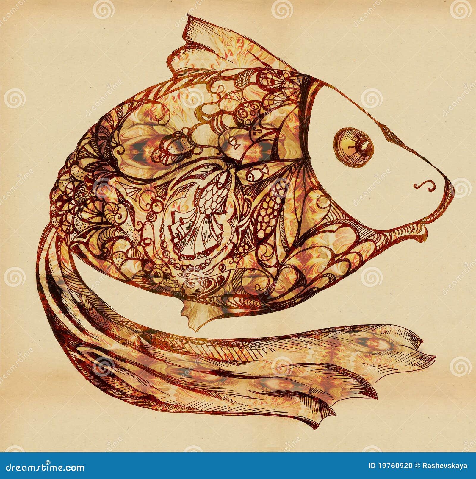 Peixes - entre os peixes pequenos das escalas