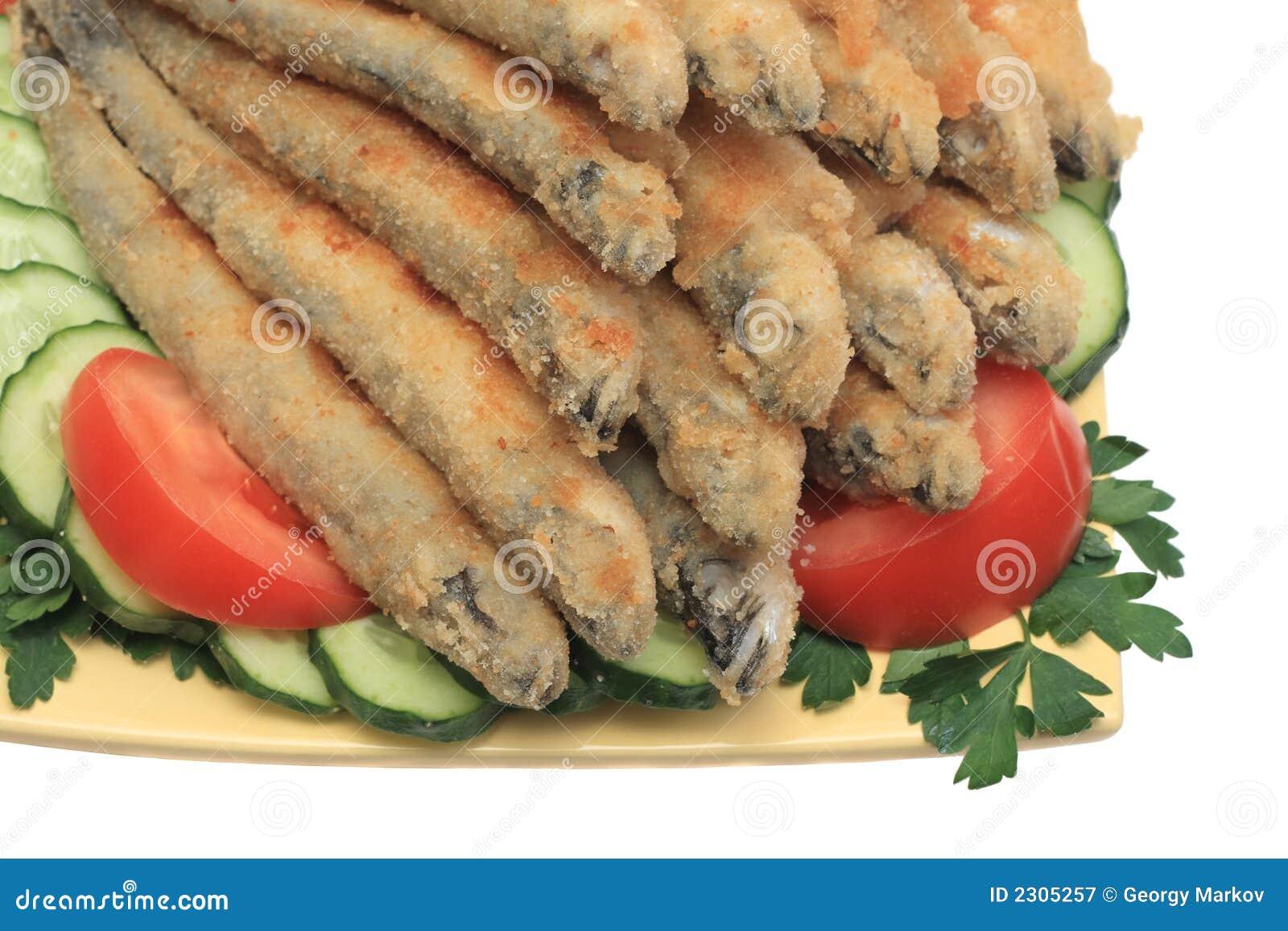 Peixes fritados #2